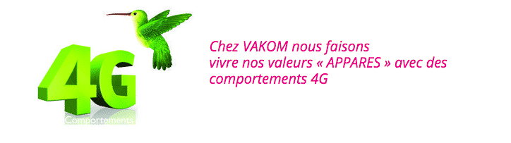 vakom comportements 4g